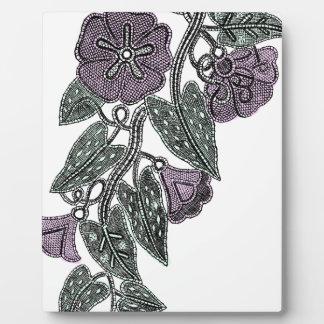 Lace Flowers Plaque