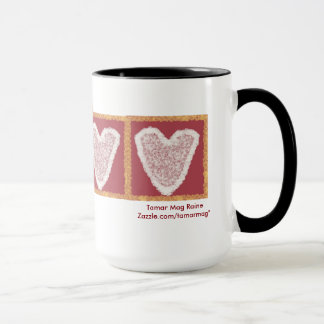 Lace Heart Mug