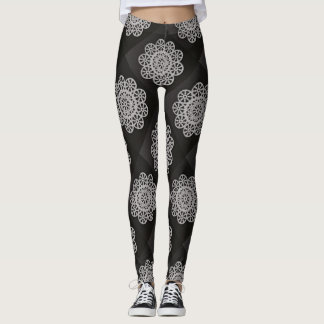 Lace Inspired Pattern 4Miranda Leggings