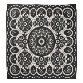 Lace Mandala Pattern Bandana