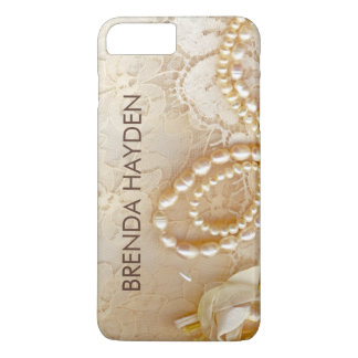 Lace Monogram iPhone 8 Plus/7 Plus Case