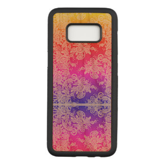Lace Pastel Gradient Samsung Galaxy S8 Wood Case