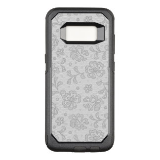 Lace pattern, flower vintage 1 OtterBox commuter samsung galaxy s8 case