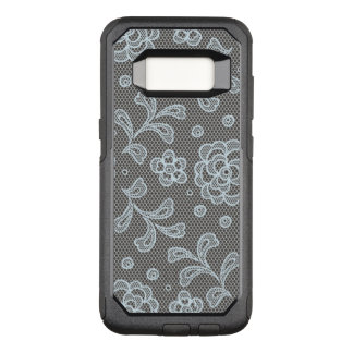 Lace pattern, flower vintage 6 OtterBox commuter samsung galaxy s8 case