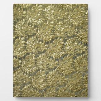lace plaque