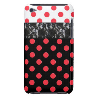 Lace Polka Dot iPod Touch Cases