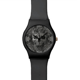 Lace Skull Watch