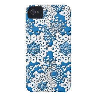 Lace snowflake 4 iPhone 4 cases