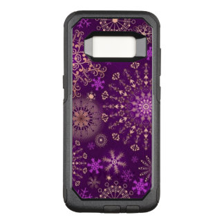 Lace Snowflakes OtterBox Commuter Samsung Galaxy S8 Case