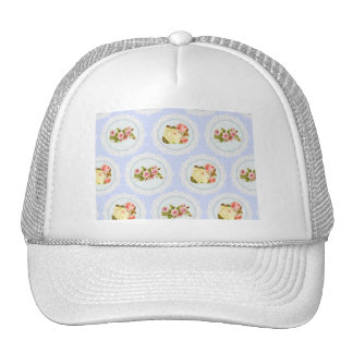Lace Victorian Floral pattern Hats
