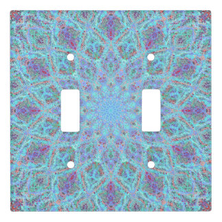 Laced pattern in the boho-style light switch cover