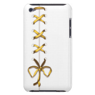 Laced Up Gold Ribbon iPod Touch Case-Mate Case