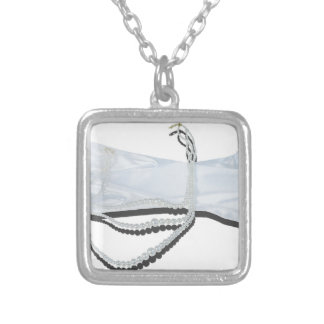 LacedGlovesPearls062115.png Silver Plated Necklace