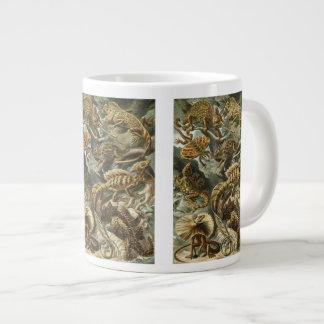 Lacertilia by Ernst Haeckel Vintage Lizard Animals Giant Coffee Mug