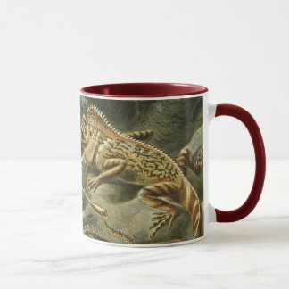Lacertilia by Ernst Haeckel Vintage Lizard Animals Mug