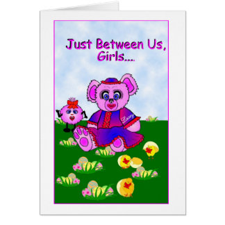 Lacey - Between us Girls.. Card