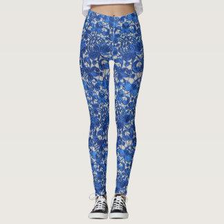 Lacey Blue Leggings