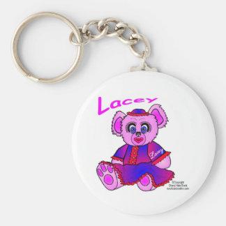 Lacey-Sitting-JPG-1500 Basic Round Button Keychain