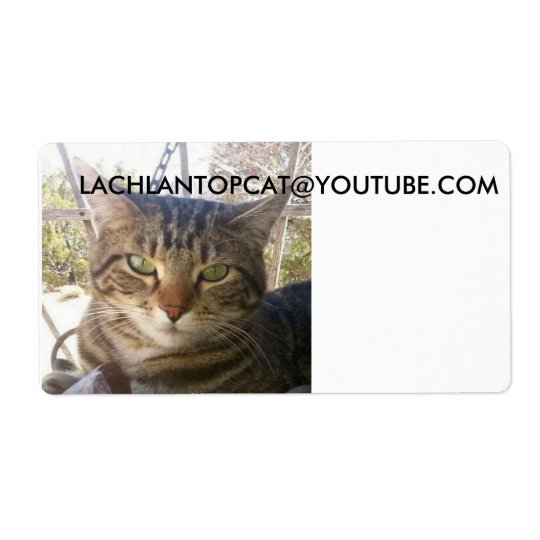 lachlantopcat Shipping Labels