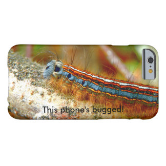 Lackey Moth Caterpillar Bugged iPhone Case
