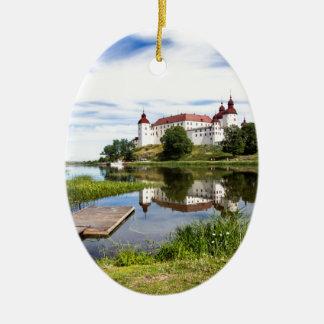 Läckö castle ceramic ornament