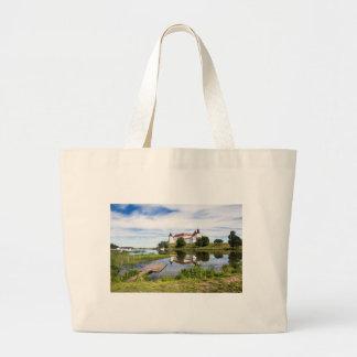 Läckö castle large tote bag