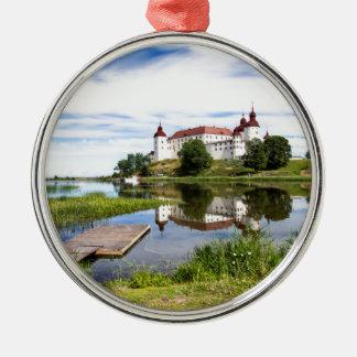 Läckö castle metal ornament