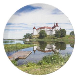 Läckö castle plate