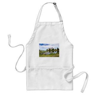 Läckö castle standard apron