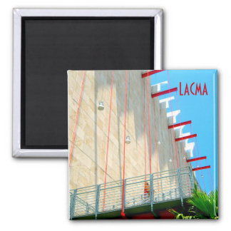LACMA Los Angeles Museum Modern Art Photograph Magnet