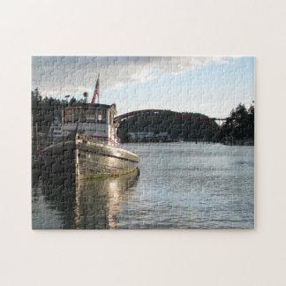 LaConner Tugboat Jigsaw Puzzle