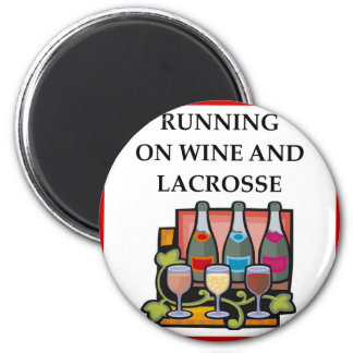 LACROSSE 2 INCH ROUND MAGNET