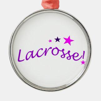 Lacrosse arquée avec des étoiles ornements