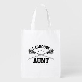 Lacrosse Aunt Reusable Grocery Bag