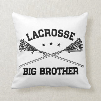 Lacrosse Big Brother Throw Pillow