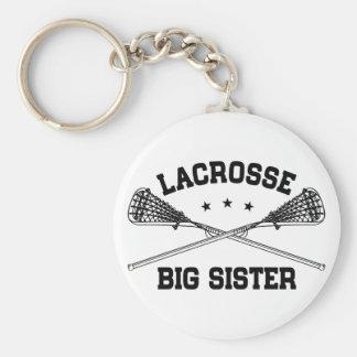 Lacrosse Big Sister Keychain