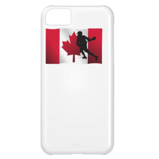 Lacrosse Canadian Flag Cover For iPhone 5C