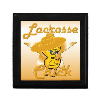 Lacrosse Chick #10 Trinket Boxes