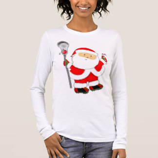 Lacrosse Christmas Long Sleeve T-Shirt