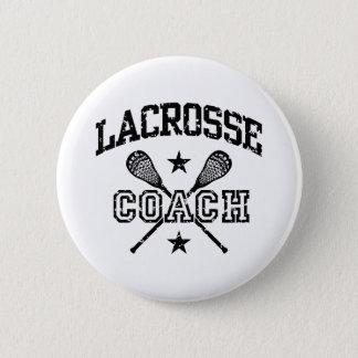 Lacrosse Coach 2 Inch Round Button