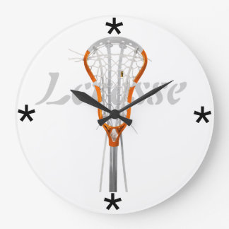 Lacrosse - Custom Clock