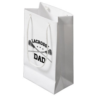 Lacrosse Dad Small Gift Bag