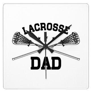 Lacrosse Dad Wallclock