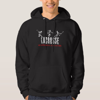 Lacrosse Dark Hooded Sweatshirt