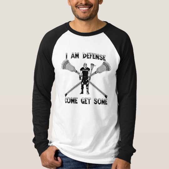 Lacrosse Defence GetSome T-Shirt