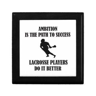 Lacrosse  design trinket box