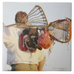 Lacrosse Equipment Tile