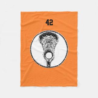 Lacrosse Fleece Blanket