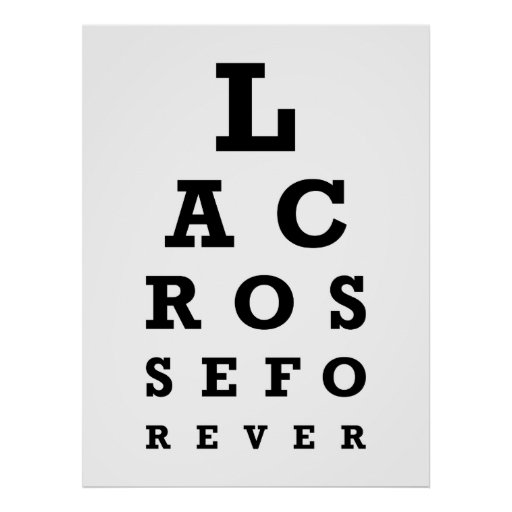 Lacrosse Forever Print - Large