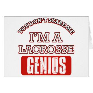 lacrosse genius cards
